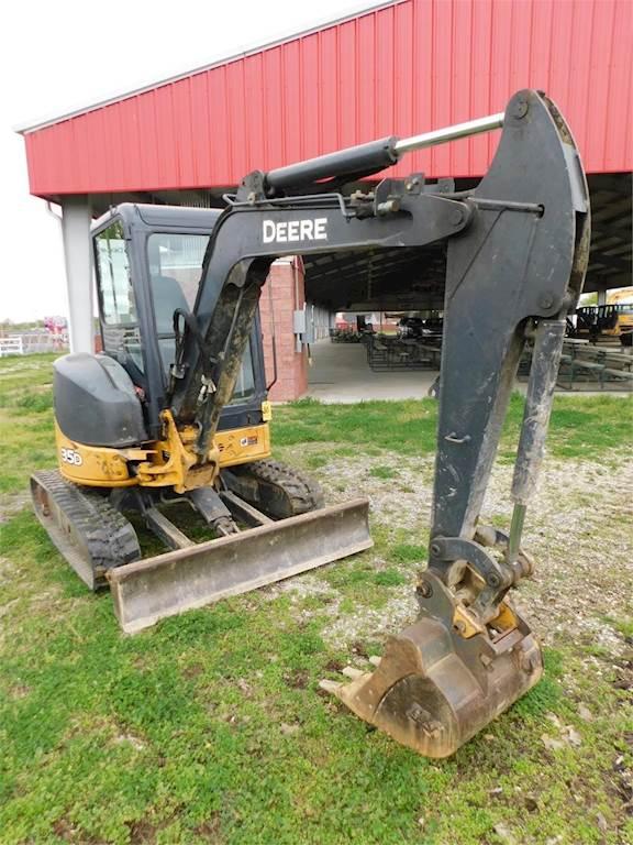 2011 John Deere 35D Mini Excavator For Sale, 4,571 Hours