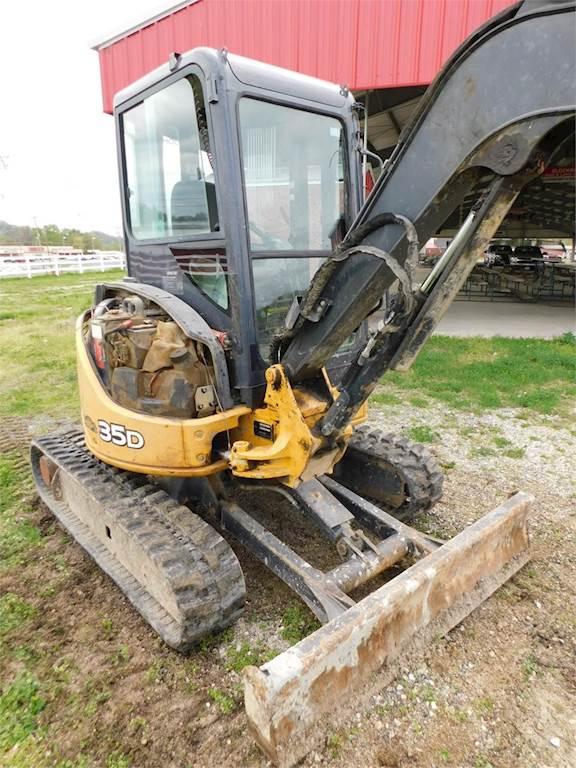 2011 John Deere 35D Mini Excavator For Sale, 4,697 Hours