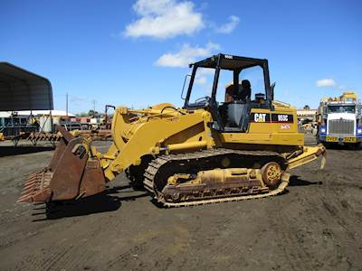2006 Caterpillar 953C Forestry Mulcher