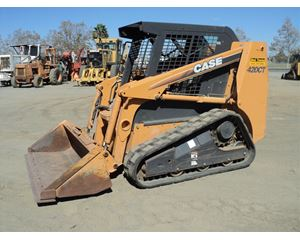 CASE 420CT Skid Steer Track Loader