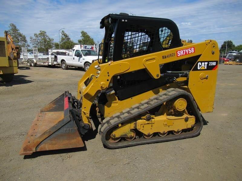 2015 Caterpillar 239D Skid Steer For Sale, 1,293 Hours | West Sacramento,  CA | 9861707 | MyLittleSalesman com