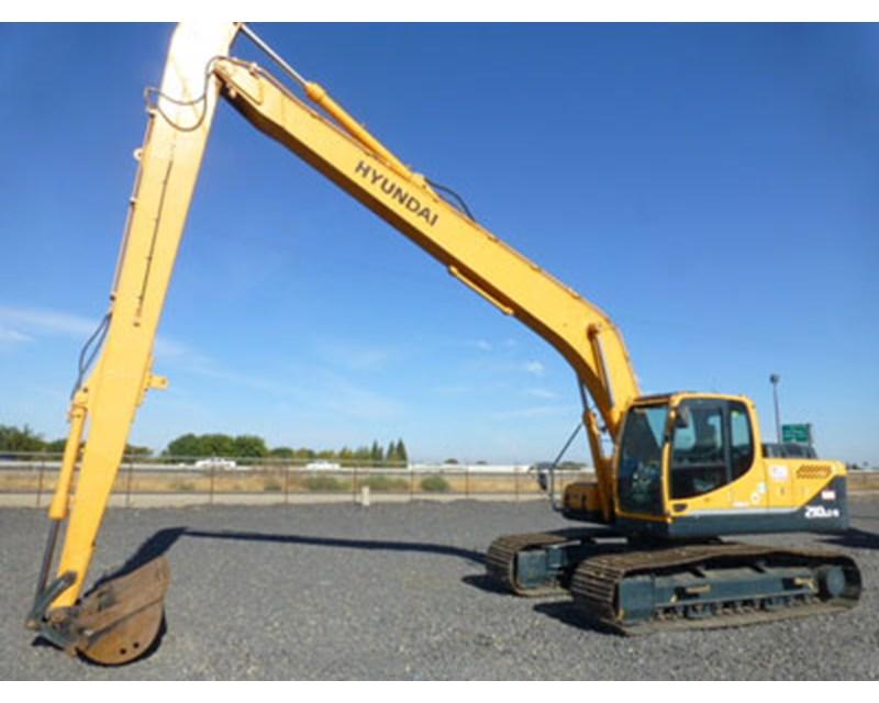 Hyundai 210LC-9 LR Long Reach Excavator