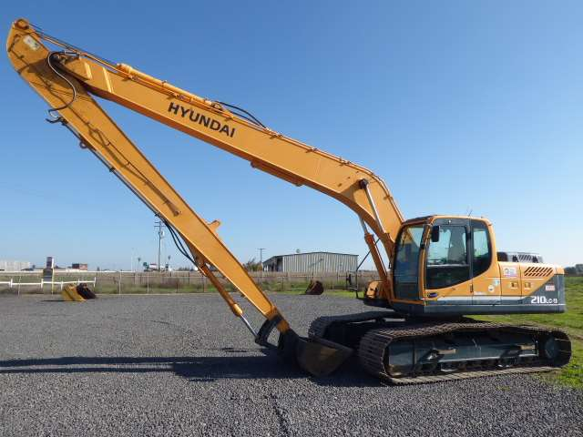 2012 Hyundai Robex 210 Lc 9 Lr Long Reach Excavator For