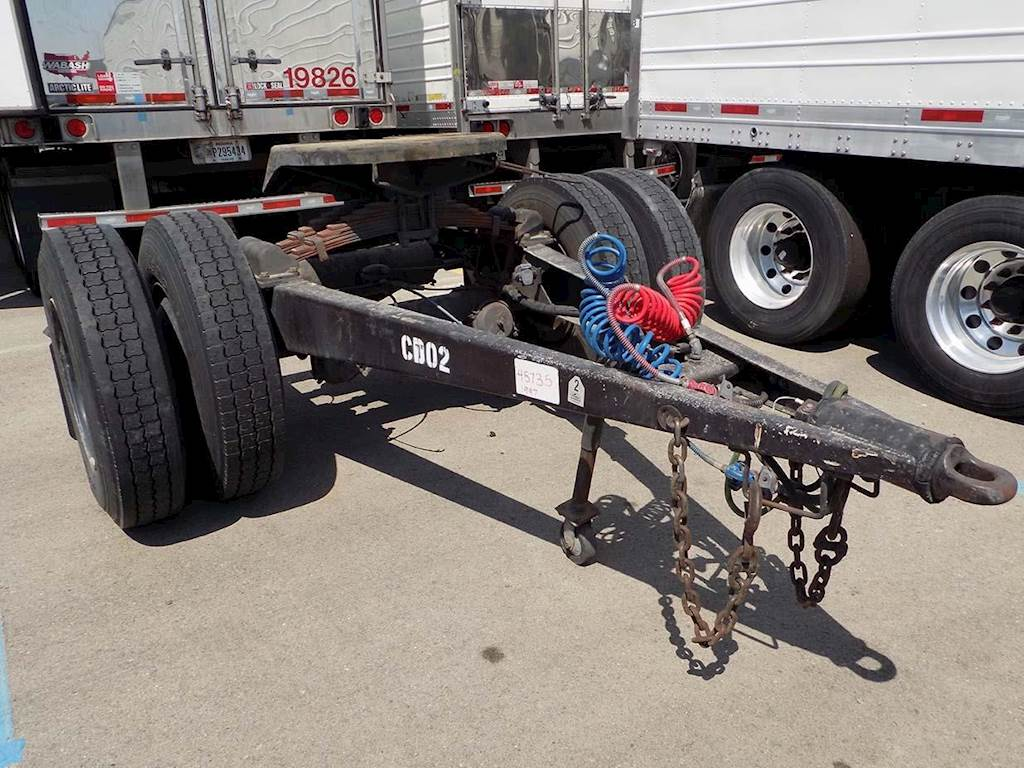 1997 Silver Eagle Dolly Trailer For Sale Salt Lake City