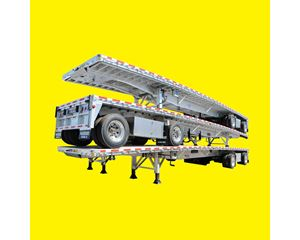 "Reitnouer All Aluminum Flatbed - ""MaxMiser"" Flatbed Trailer"