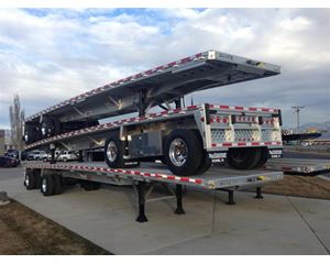"""Reitnouer Qty (5) All Aluminum Flatbed - """"MaxMiser"""" Flatbed Trailer"""