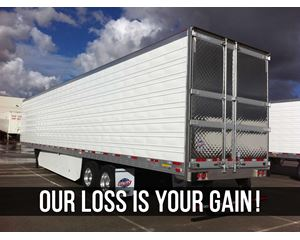 UTILITY QTY (60) AVAILABLE NOW Refrigerated Trailer