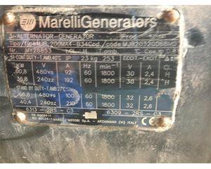 MARELLI MOTORI 60 KW Generator Set