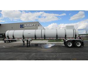 Brenner 5400 FRP DOT 412 Chemical / Acid Tank Trailer