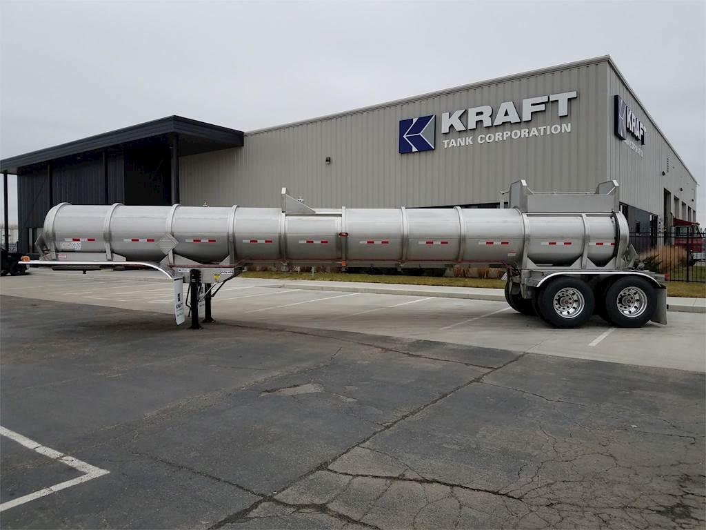 Tank Trailer Components : Polar dot chemical corrosives tanker