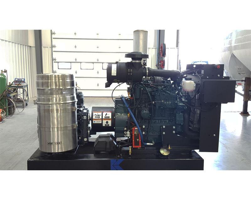 Dry Bulk Truck Blowers : Kraft tank blower pack dry bulk pneumatic