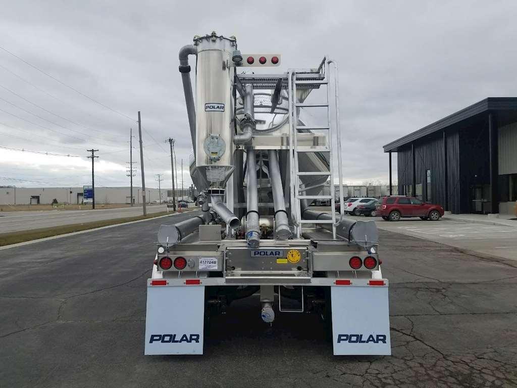 Dry Bulk Truck Blowers : Polar full vacuum dry bulk trailer