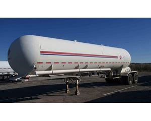 Fruehauf 10400 265 PSI Industrial Gas Tank Trailer