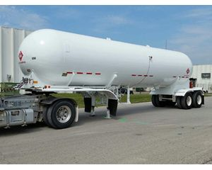 Fruehauf Industrial Gas Tank Trailer