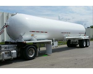 Lubbock Industrial Gas Tank Trailer