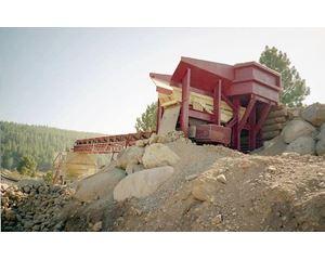 Rock Systems 111-ED Conveyor / Stacker