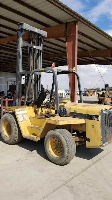1998 Eagle Picher R80 Mast Forklift For Sale | Madera, CA