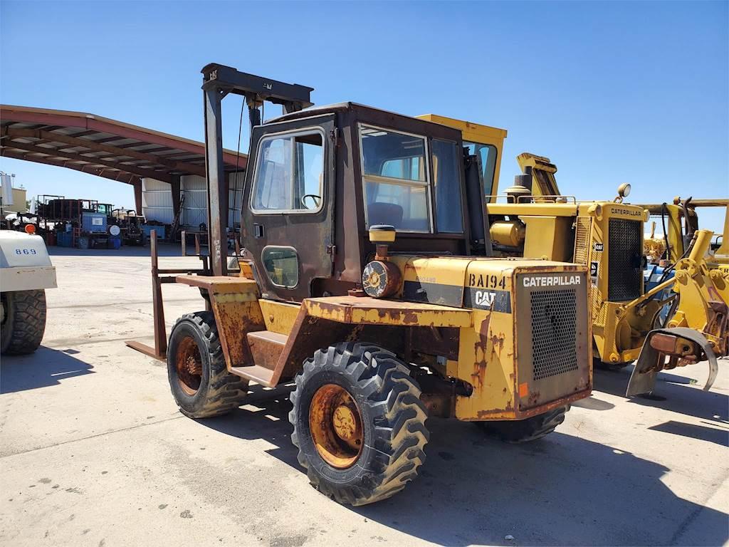 Caterpillar R80 Rough Terrain Forklift