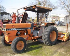 CASE-IH 585 Tractors - 40 HP to 99 HP