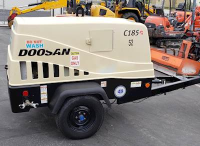 2015 Doosan C185G Air Compressor