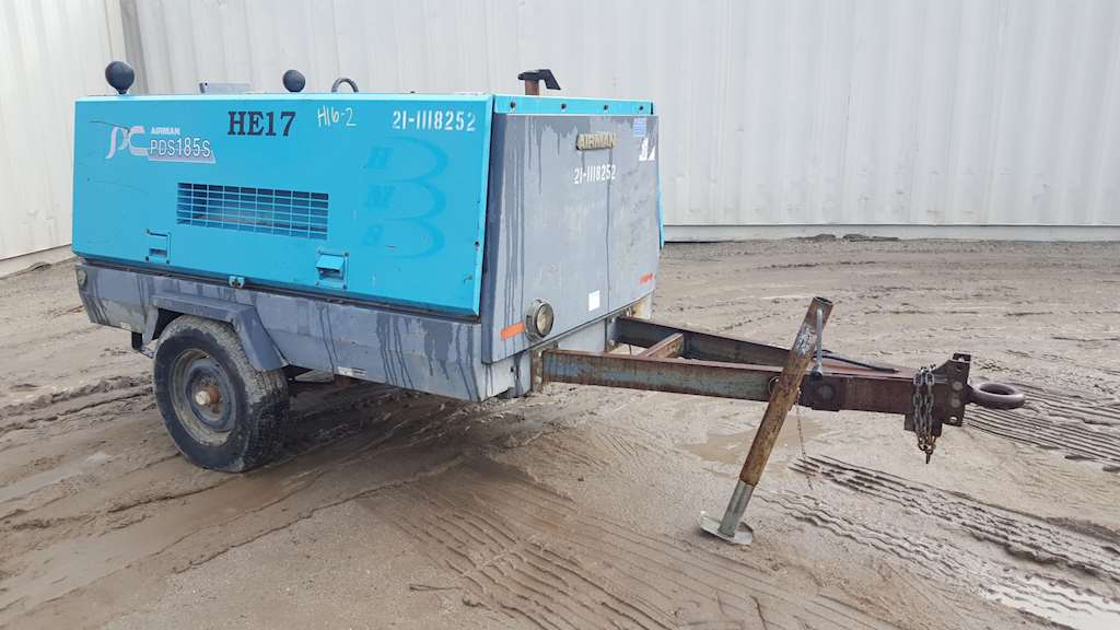 Airman pds185s air compressor used for sale