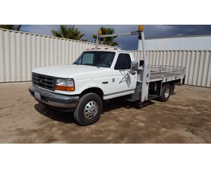 1996 Ford F SUPER DUTY Flatbed Truck