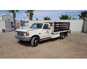 1989 Ford F SUPER DUTY Flatbed Truck