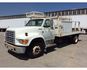 Ford F Series Flatbed Truck
