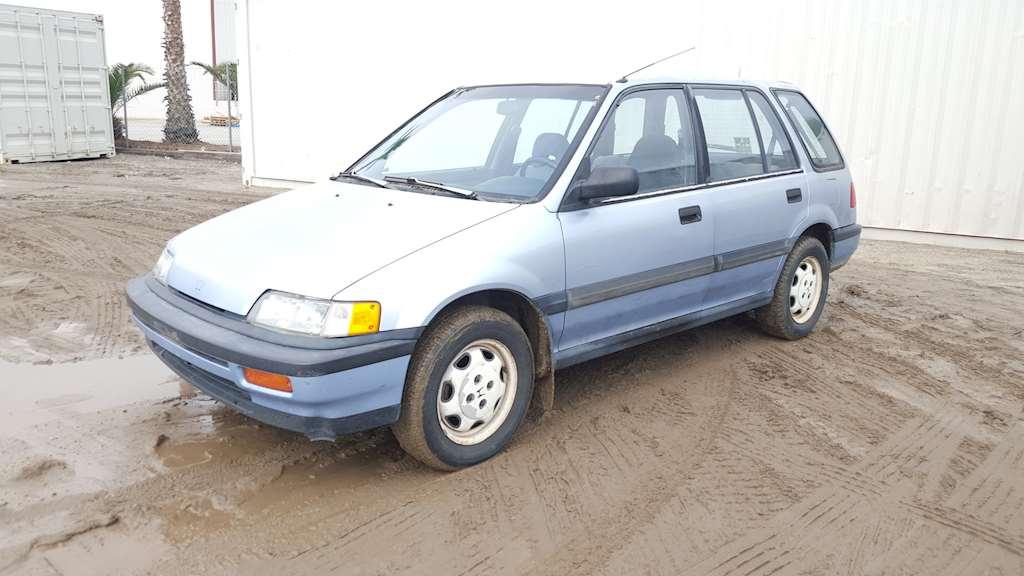 1989 honda civic 4 door hatchback for sale colton ca 8999190. Black Bedroom Furniture Sets. Home Design Ideas