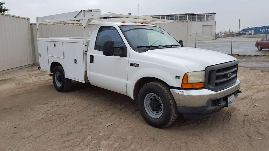 2001 ford f  utility truck for sale