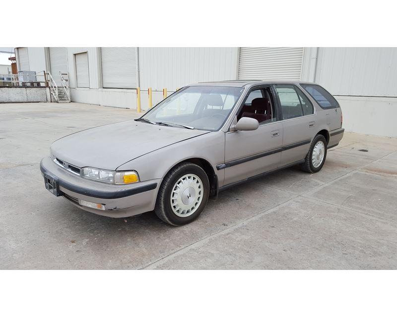 1991 honda accord wagon wagon for sale colton ca. Black Bedroom Furniture Sets. Home Design Ideas