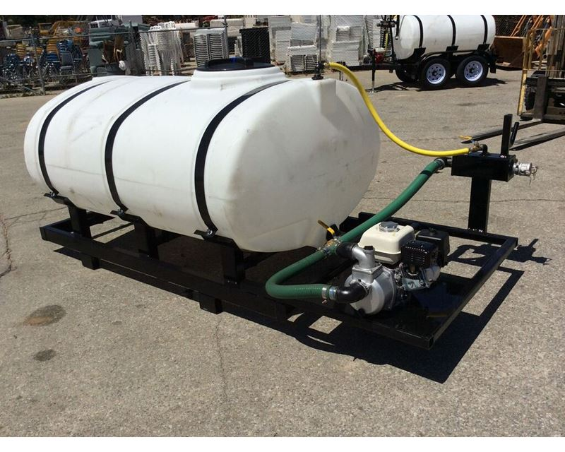 2015 Dog House 500 Gallon Skid Tank Water Tank Trailer For