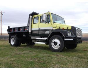 Freightliner FL 70 Ext. Cab Dump Truck