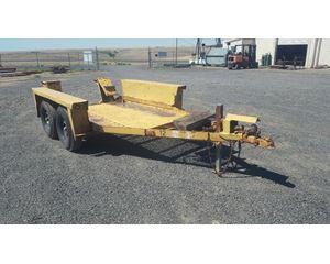 1971 Ditch Witch Equipment Ramp trailer Equipment Trailer