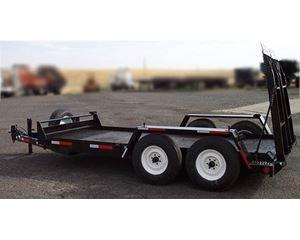 Helix Welding 10,000lb Ramp Equipment Trailer