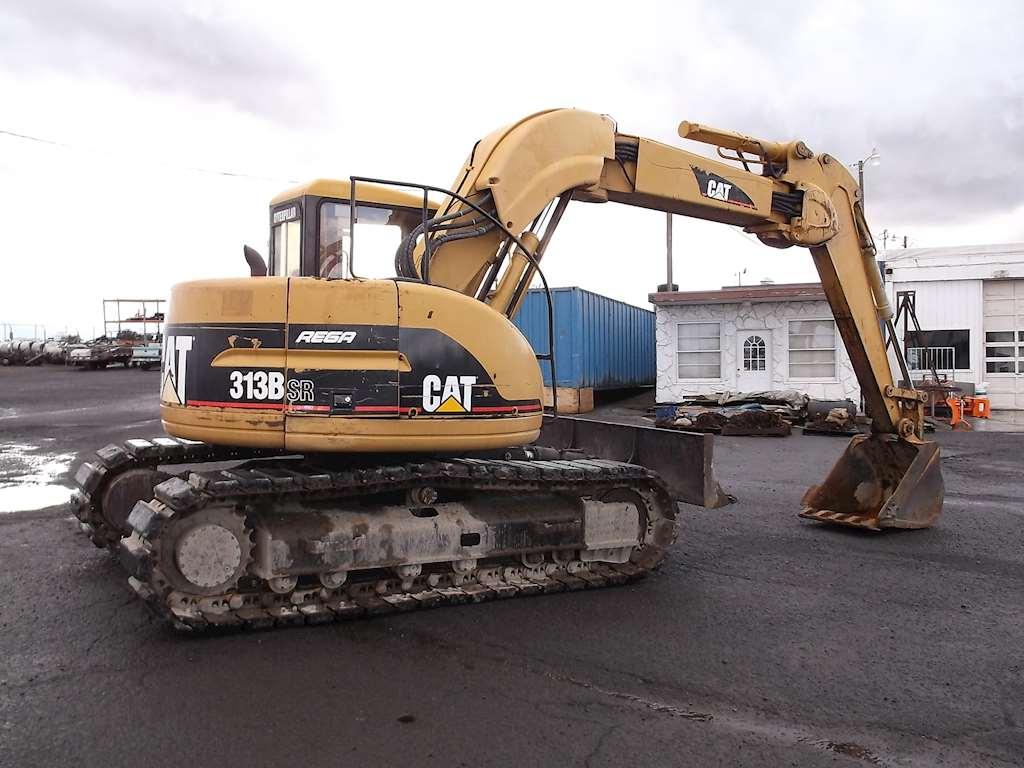 1996 Caterpillar 313 B Sr Excavator For Sale 8 810 Hours