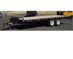 Iron Eagle 14,000lb Titian Flatbed Trailer
