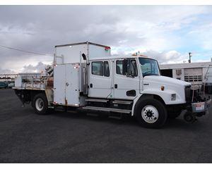 Freightliner FL 70 Crew Cab Service / Utility Truck