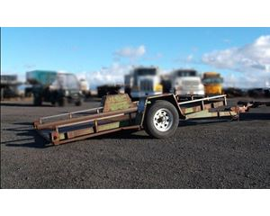 Shop Built Tiltbed Trailer Tilt Bed Trailer