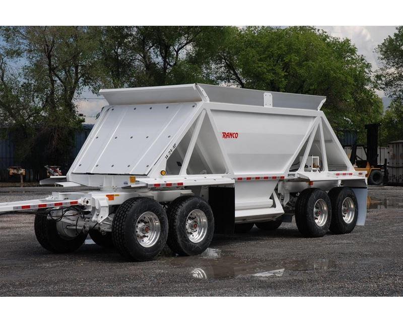 2015 Ranco Semi Bottom Dump Trailer For Sale Salt Lake