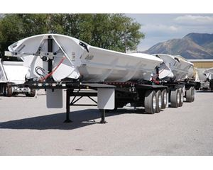 SmithCo Side Dump Train on Disc Brakes Side Dump Semi Trailer