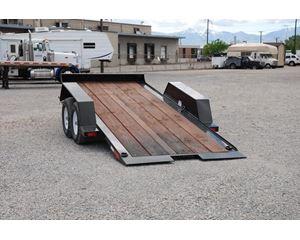 SAW MiniEx Tilt Deck Tag Trailer