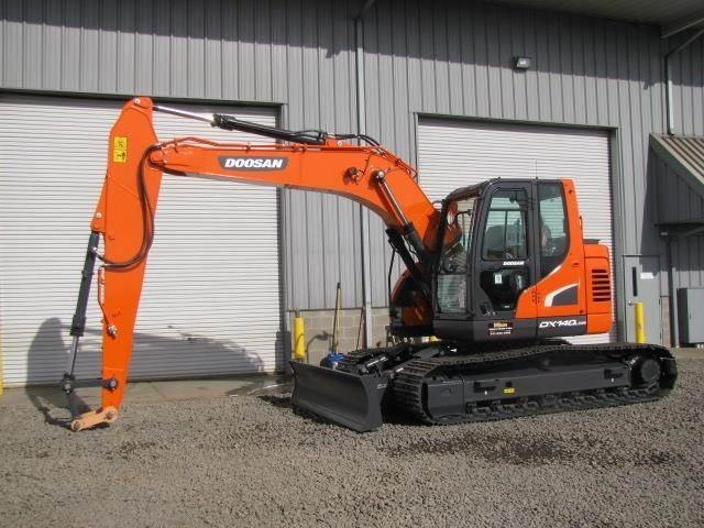 2019 Doosan DX140 LCR-5 Excavator For Sale | Central Point