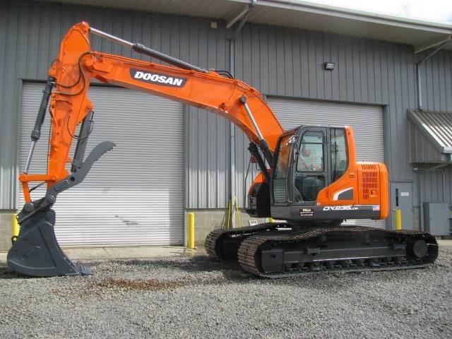 2011 Doosan DX235 LCR Excavator
