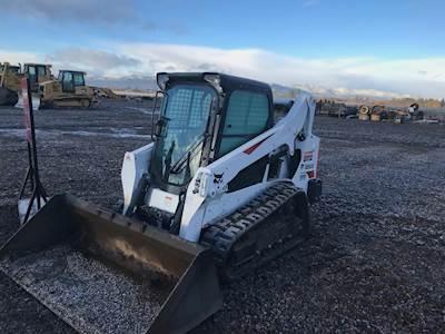 2018 Bobcat T595 Forestry Mulcher