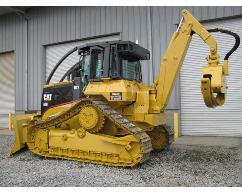 Caterpillar 522B - Feller Bunchers - Forestry Equipment ...   Cat Forestry Equipment