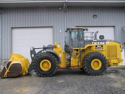 2015 John Deere 844KII Wheel Loader For Sale, 3,866 Hours
