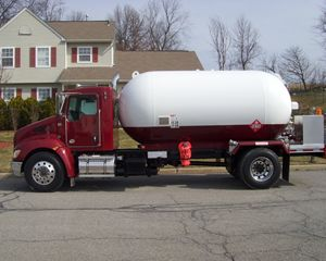 Amthor Propane Truck unit Industrial Gas Tank Trailer