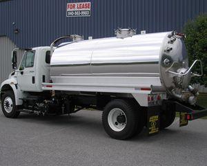 Amthor Truck Tank Vacuum Tank Trailer