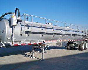 Troxell 130BBL Vacuum Tank Trailer